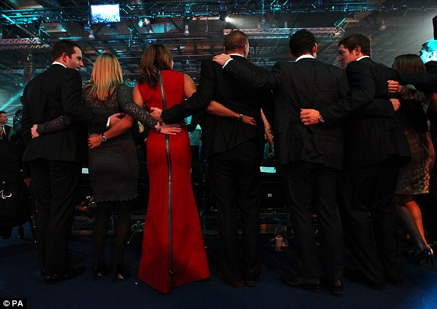 Summing up whats wrong with SPOTY - doing the 'Poznan' and being obsessed with Jessica Ennis' arse.