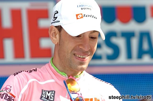 What Nibali wants - the maglia rosa.