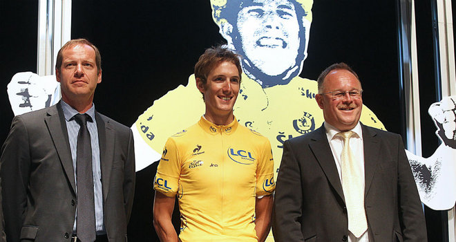 Schleck will want to wear this in Paris.