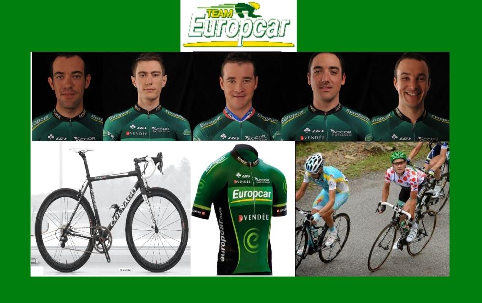 Europcar Jersey 2013 Sicycle
