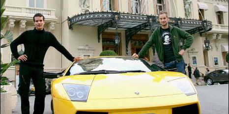 Why does Boonen need to eb angry if he can drive his Lambo round Monaco?