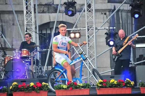 About as good as it got for Kittel at the Tour, although he was game enough to tweet about his ahem, explosive bowel movements.