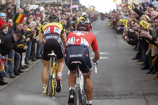 We'll have to wait for 2014 for a rematch of the 2010 Boonen/Cancellara duels