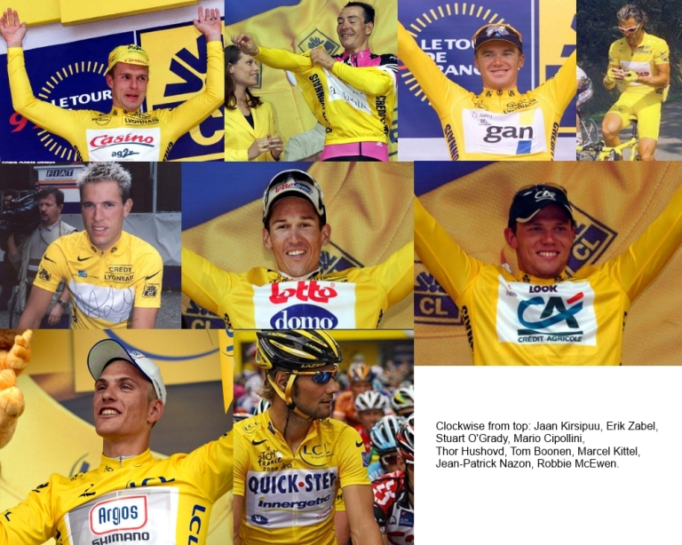 sprinters yellow jersey