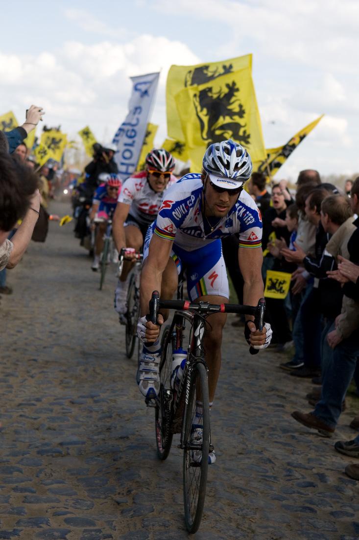 Tom_Boonen_and_Fabian_Cancellara,_2008_Paris-Roubaix
