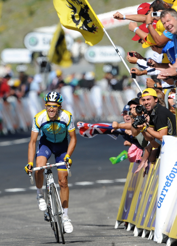 It is unlikely Contador's attack would have gone down well had Armstrong been in yellow.