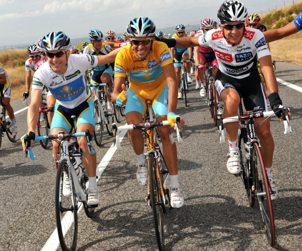 Contador was on a high thanks to wins at the 2007 Tour and 2008 Giro and Vuelta