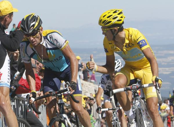 Ventoux, like many other times, would probably have become the nemesis of Armstrong once more.