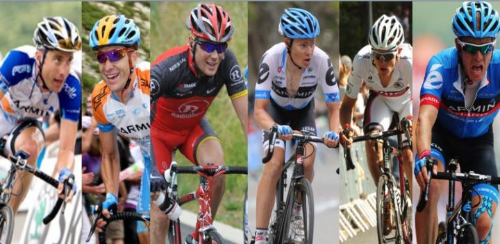 The USA's top finishers from 2008, minus Armstrong. Only Van Garderen and Talanksy are under 30.
