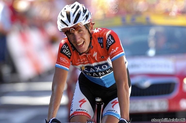 Schleck had been the best of the rest in 2009 behind Contador