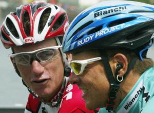 German Jan Ullrich (Bianchi/Ger) rides a