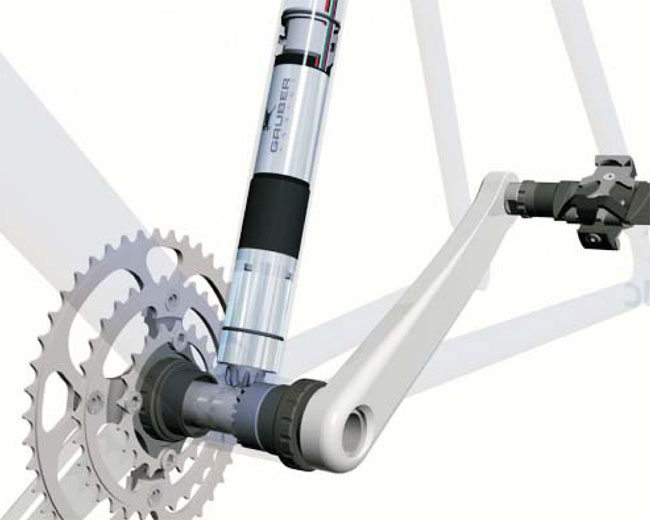 """Mechanical Doping"" with a Gruber Assist"