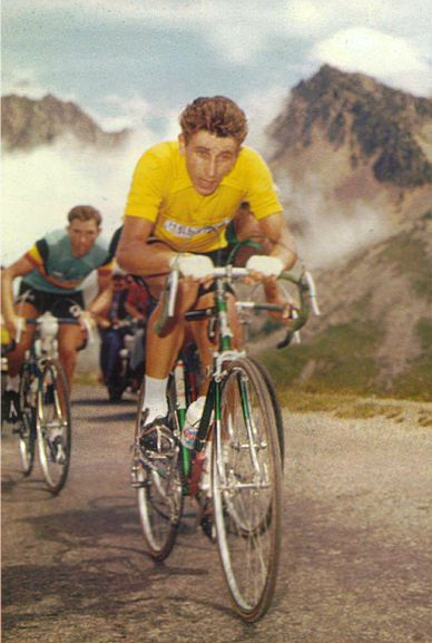 Jacques Anquetil - venerated despite his doping history