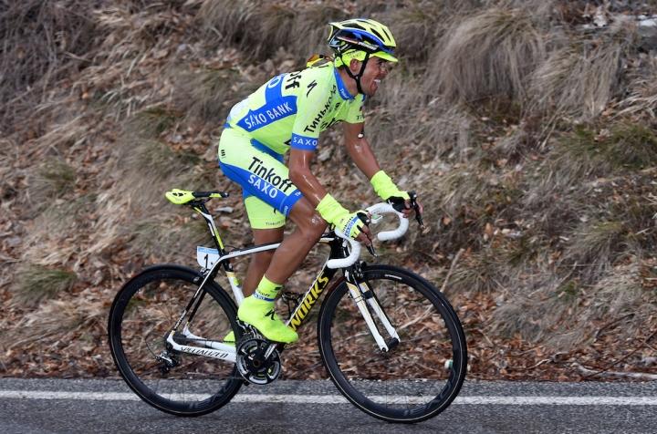 Cycling: 50th Tirreno - Adriatico 2015 / Stage 5  CONTADOR Alberto (ESP)/  Esanatoglia - Terminillo 1675m (197Km)/  Stage Rit /(c) Tim De Waele