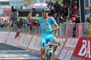 2014, Giro d'Italia, tappa 15 Valdengo - Montecampione, Astana 2014, Aru Fabio, Montecampione