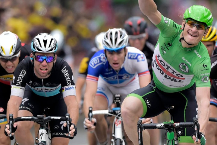 Andre Greipel wins stage five of the 2015 Tour de France