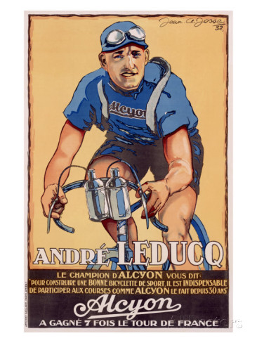 Andre Leducq, more famed for having won 25 stages of the Tour