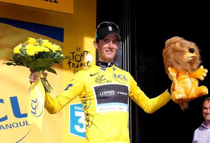 Andy Schleck wore yellow in 2011, but ultimately did not win