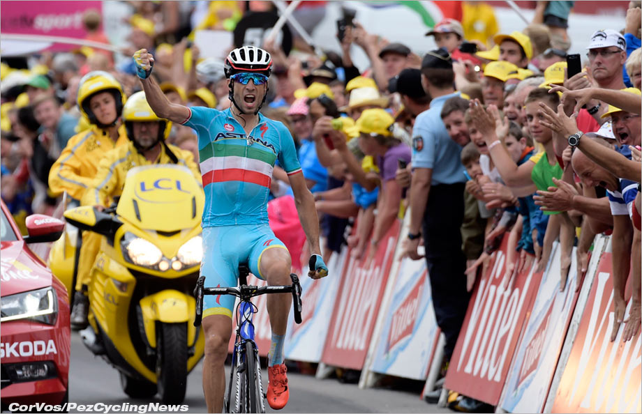 Vincenzo Nibali didn't defend his 2014 Tour crown, but 4th place and a stage win wasn't a bad return.