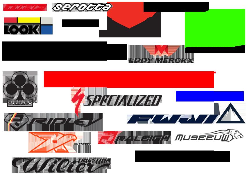Bicycle brand logos